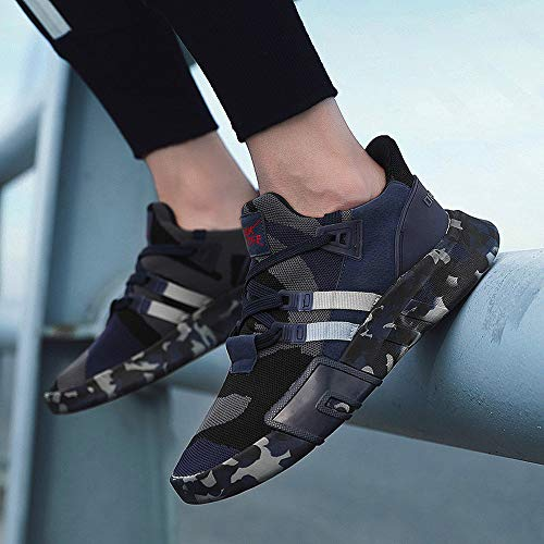 Shoes Bluscuro Scarpa Sneakers Nuovo Lace Francesina Ragazzo Pantofola Scarpe Estate Vintage Casual Ginnastica up Ihengh Moda Breathable Sport Running 2019 Rete Pu Men Respirante Uomo 7pqSWUXwx