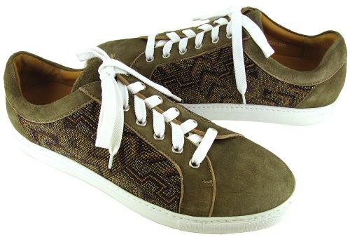 Donald J Pliner Heren Sigrid Sneakers Olive Comb / Khaki