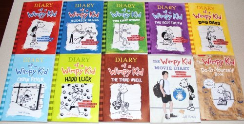 Full diary of a wimpy kid book series by jeff kinney diary of a wimpy kid collection 1 8 diy movie guide solutioingenieria Gallery