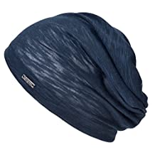 Casualbox Mens Womens Beanie Hat Rayon Thin Light Sweat Wicking Unisex