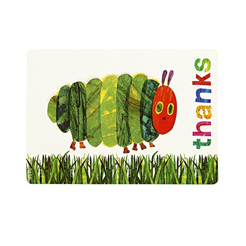 Caterpillar Party Supplies (World of Eric Carle, The Very Hungry Caterpillar Party Supplies, Thank You Cards, 12)