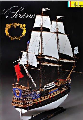 Amazon.com: Plástico Modelo Barco Buque Velero la Sirene 1 ...
