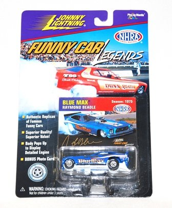 Johnny Lightning Racing Legends (Johnny Lightning - Funny Car Legends - Radici & Wise, Paul Radici - 1975 Season - NHRA Championship Drag Racing)