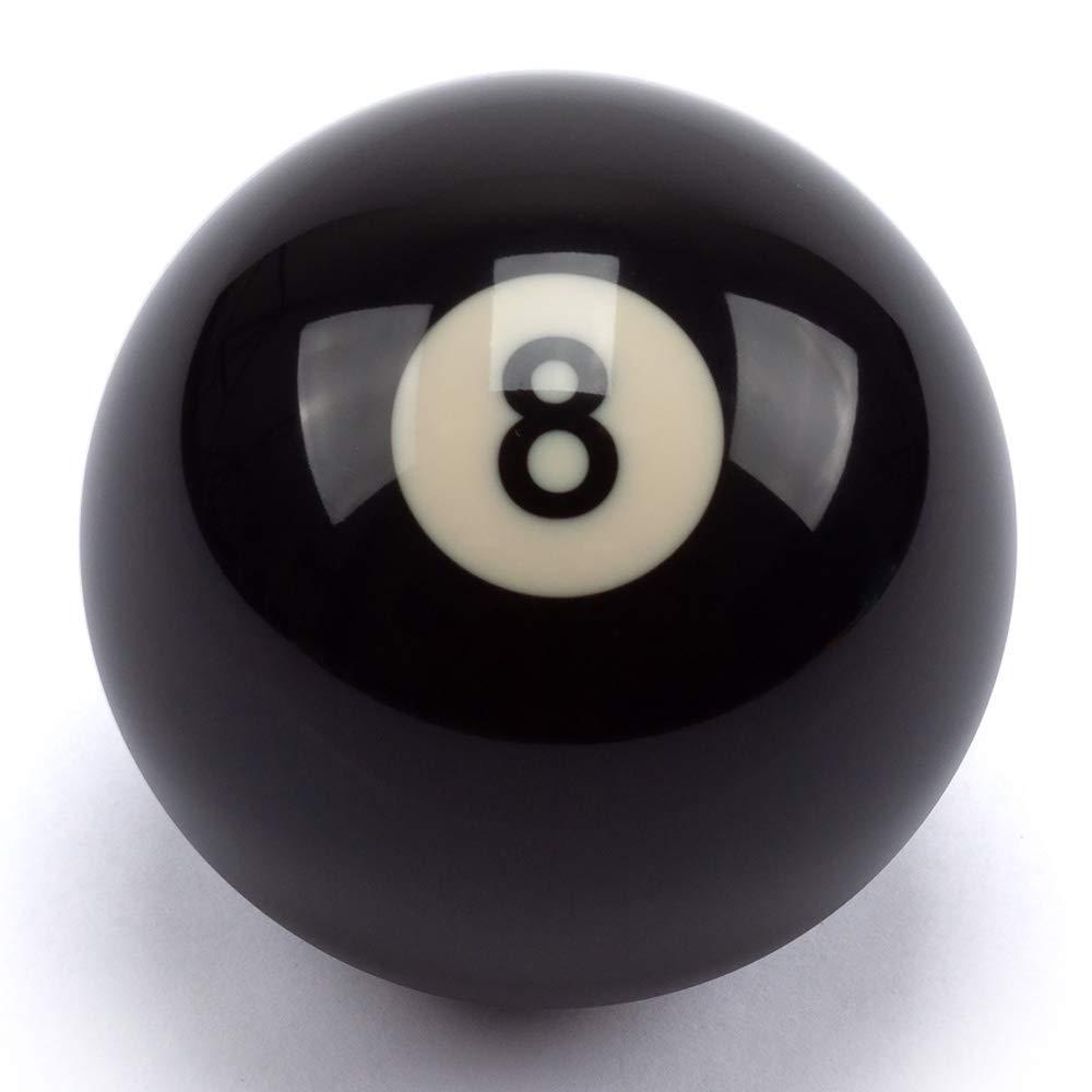 GSE Games & Sports Expert AAAグレード 2-1/4インチ 規定サイズ ブラック #8 交換用プールボール