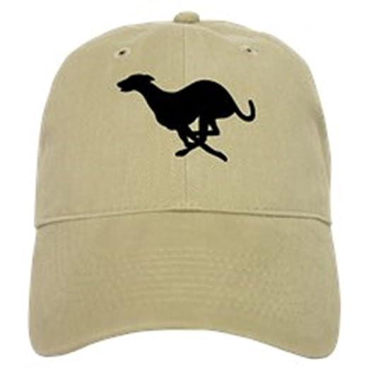 Amazon.com  CafePress - Greyhound - Baseball Cap with Adjustable ... bef39975c08
