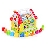 Baby : TOYK Kids toys Musical Colorful Baby Fun House, Many Kinds Of Music, - girls boys toddlers and baby toys-,Electronic Geometric Blocks Learning Educational Toys