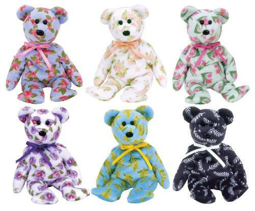 TY Beanie Babies - ASIA PACIFIC 2004 Exclusive Bears (Set of 6) (8.5 inch) MWMTs ^G#fbhre-h4 8rdsf-tg1380120