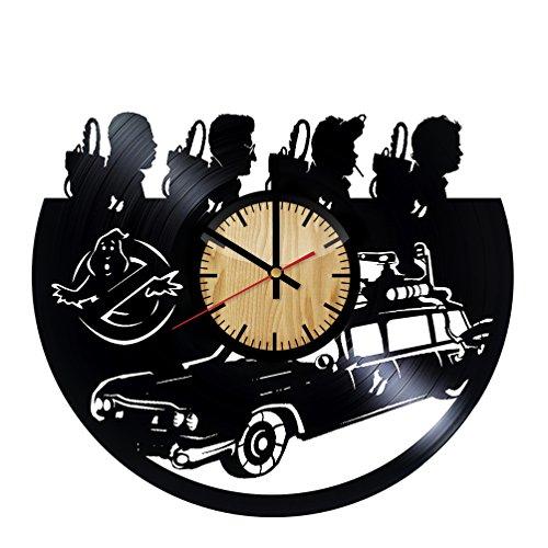 ForLovedGifts Ghostbusters Design Vinyl Wall Clock -