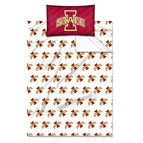 Iowa State Cyclones Twin Sheet Set Official ()
