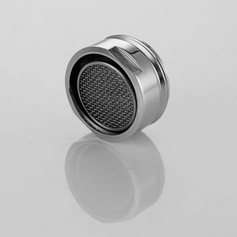 Wasserhahn Filtereinsatz Wasserhahn-Luftsprudler Mischd/üse Luftsprudler Silber f/ür K/üche//Bad 1 St/ück