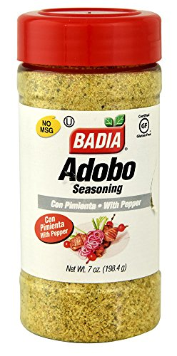 Badia Adobo with Pepper, 7 Ounce (Pack of 12) by Badia