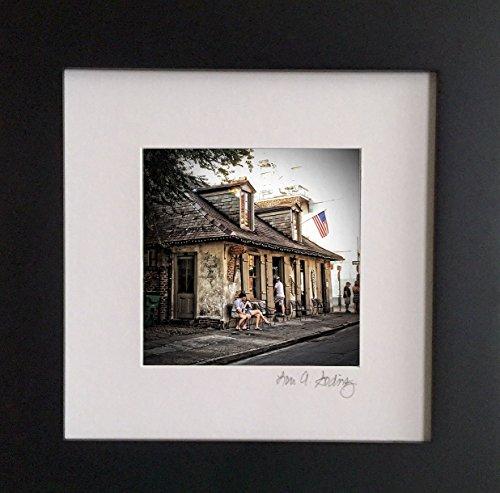 New Orleans Framed Photograph (Lafitte's Blacksmith Shop, New Orleans, LA)