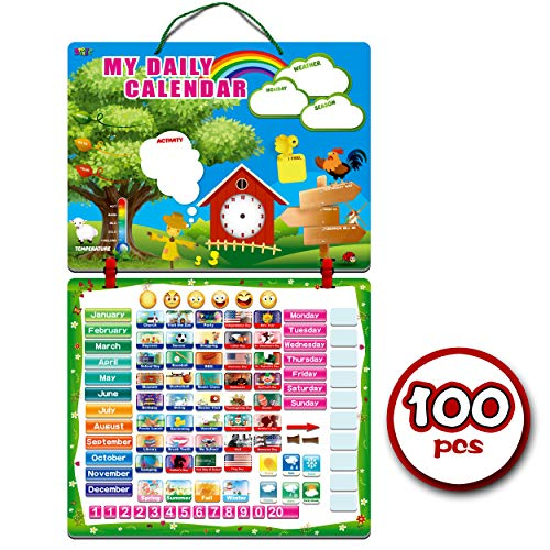 Kids Daily Calendar with