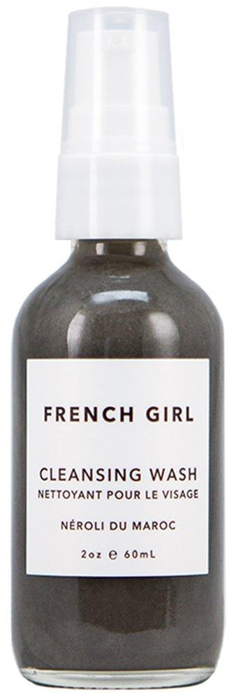 French Girl Organics - Organic / Vegan Charcoal + Neroli du Maroc Cleansing Wash (2 oz)