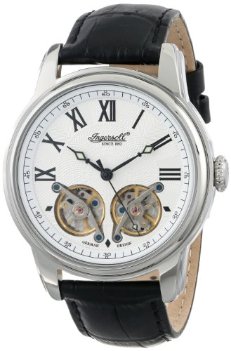 Ingersoll Men's IN3104SL Raleigh Analog Display Automatic Self Wind Black Watch