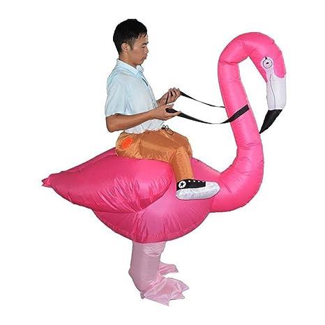 Deanyi - Flamingo con Forma Hinchable, Disfraz de Halloween ...