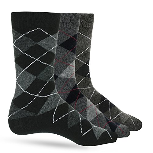 mens 100 cotton dress socks - 7