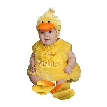 Disfraz de patito de peluche para bebés  6 meses  Amazon.es ... 2a76cdec852f