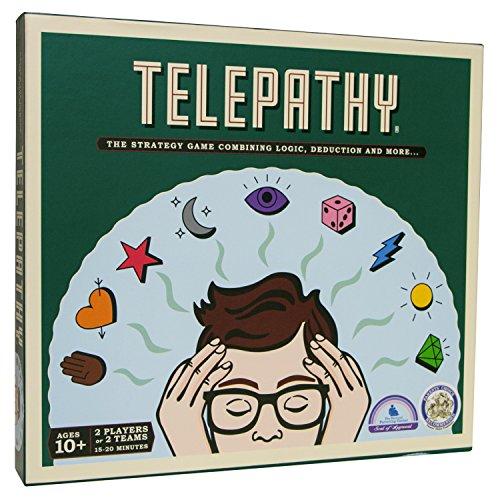 Mighty Fun! Telepathy Head-to-Head Logic, Strategy Game