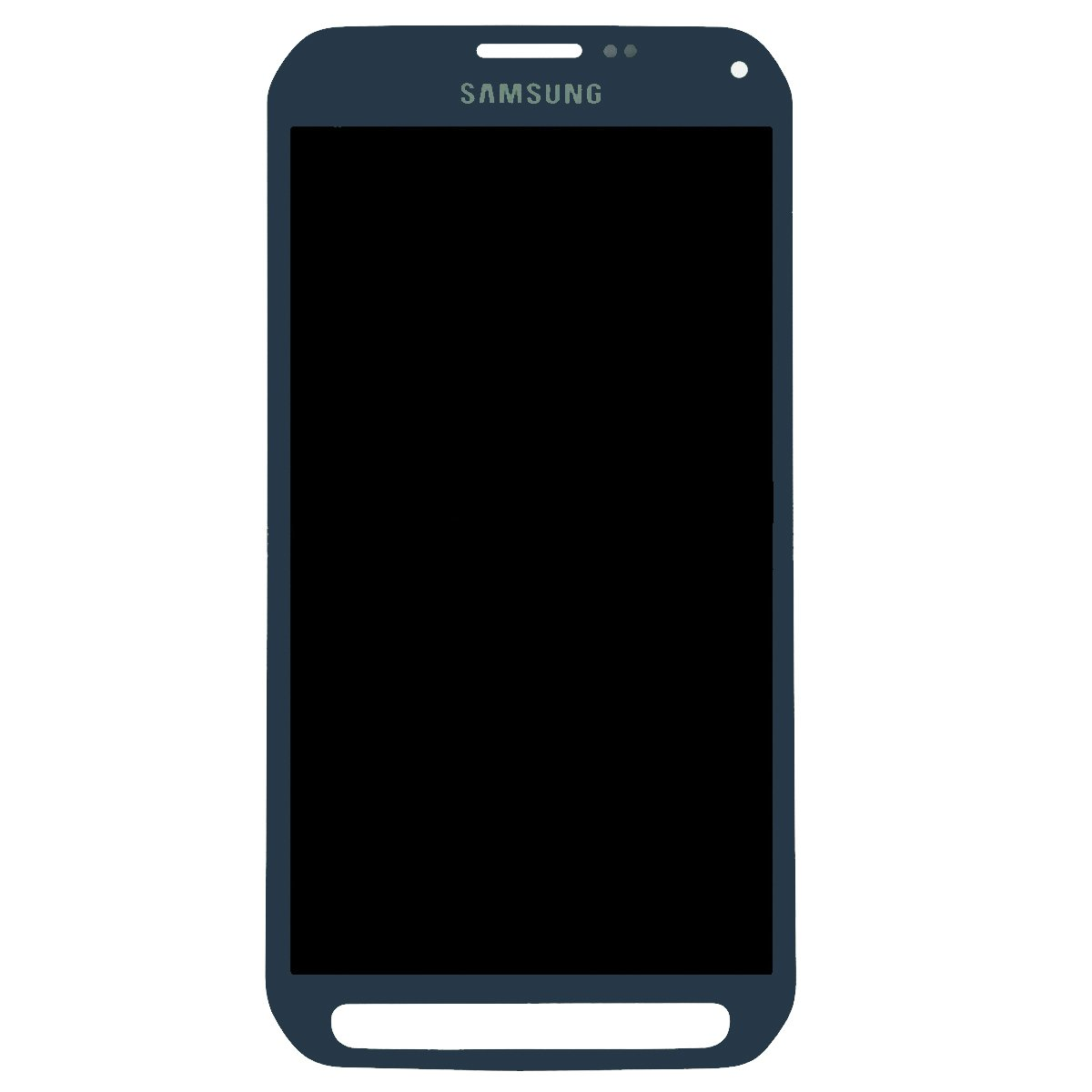 Touch Screen Digitizer and LCD for Samsung Galaxy S6 Active - Camo Blue