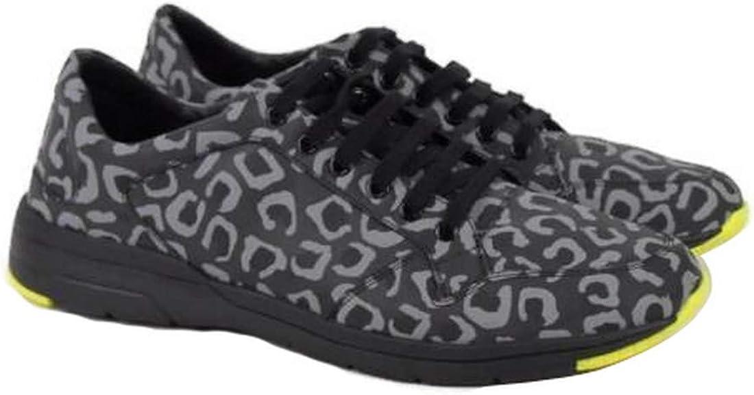 Gucci Men's Reflex Leopard Print Gray