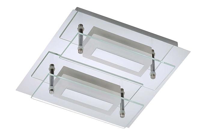 Trango 2 bracci ip44 design bagno soffitto lampada da soffitto in
