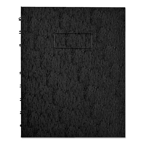 Blueline A7150EBLK NotePro Executive Notebook College/Margin Rule 9 1/4 x 7 1/4 White 75 Sheets