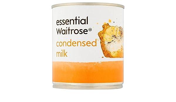La leche condensada esencial 397g Waitrose: Amazon.es: Alimentación ...
