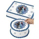 Wilton 710-4502 Disney Frozen Edible Images Cake Decorating Kit, Multicolor