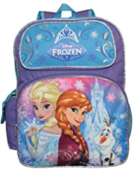 Disney Frozen Deluxe 3D Embossed 16 School Bag Backpack