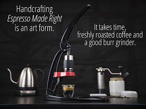 Flair Signature Espresso Maker (Bundle, Chrome)