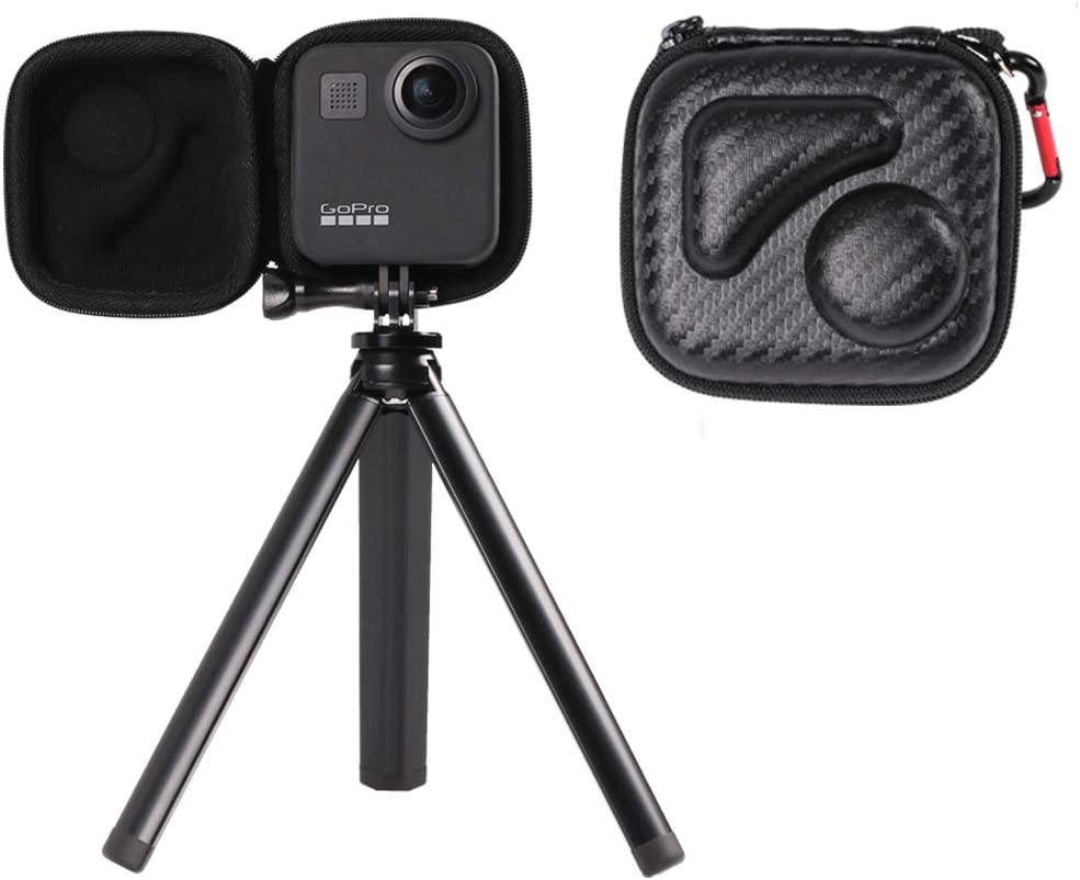 SUREWO Mini-Tragetasche Reisetasche Aufbewahrungsbox f/ür GoPro Max Kamera