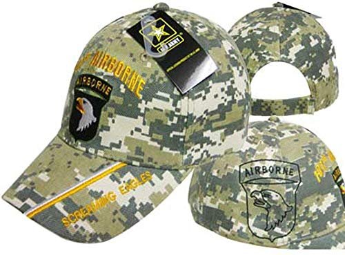 U.S. Army 101st Airborne Screaming Eagles Digi Camo Cap