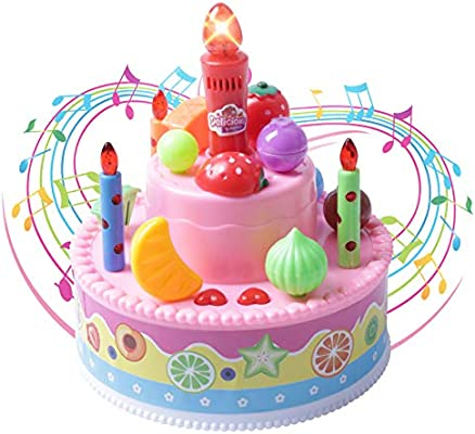 Prime Record And Playback 4 6 Musical Birthday Cake Toy With Light Up Funny Birthday Cards Online Alyptdamsfinfo