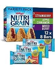 Kellogg's Nutri-Grain, Soft Baked Breakfast Bars, Variety Pack