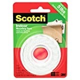 Scotch Mounting Tape, 12.7 mm X 1.9 m, 1 Roll, (110C)