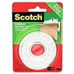 Scotch Mounting Tape, 12.7 mm X 1.9 m...