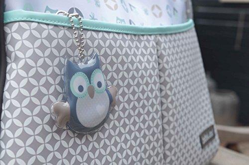 bébé-jou 310032 Wickeltasche mit Unterlage Owl family