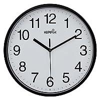 """Hippih 10"""" Silent Quartz Decorative..."""