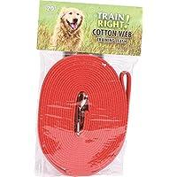 Correa para perros Coastal Cotton Web Training 20 pies.