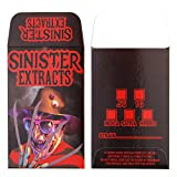 100 SINISTER EXTRACTS Freddy Shatter Labels Glossy Wax Coin Strain Envelopes #083