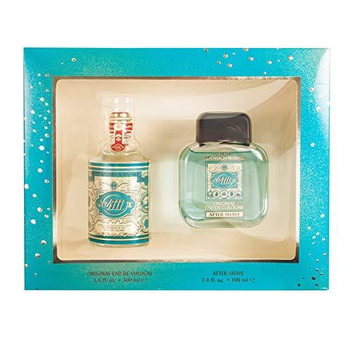 Price comparison product image 4711 By Muelhens For Men. Gift Set ( Eau De Cologne Splash 3.4 Oz + Aftershave 3.4 Oz )