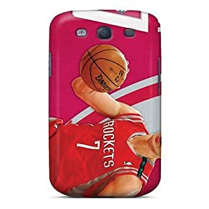 Hard Plastic Galaxy S3 Cases Back Covers,hot Houston Rockets Cases At Perfect Customized