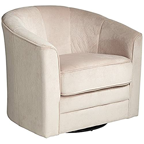 Keller Argos Muse Off White Swivel Chair