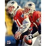 456f8c5b7cc Autographed Drew Bledsoe Photo - 16x20 w Brady ALUMNI - Autographed NFL  Photos.