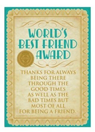 amazon worlds best friend賞メタルサイン デザイン小物 オンライン通販
