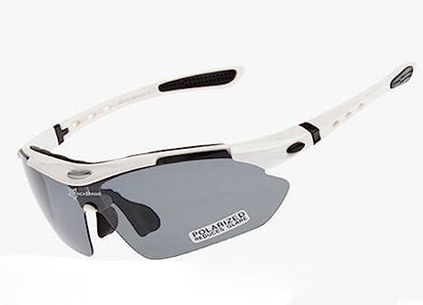 Sport Occhiali da sole Unisex, lenti Anti-polvere, Occhiali da ciclismo