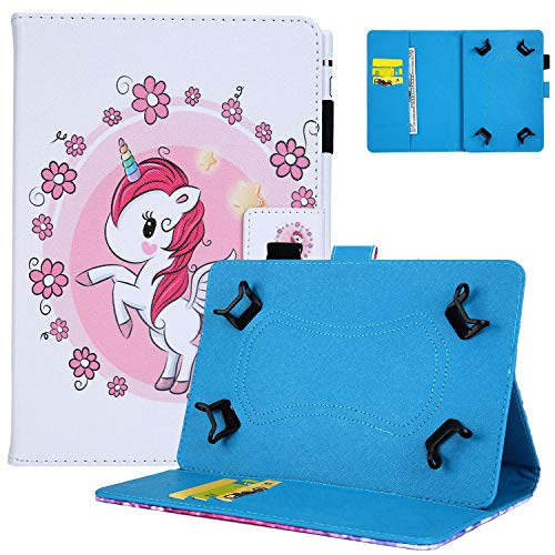 UGOcase Universal Folio Case for 7 Inch, Stand Wallet Cover withPencil Holder for 6.5-7.5