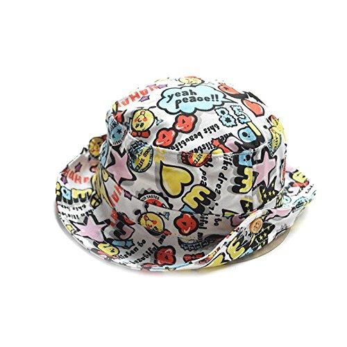c53b8e693fa Amazon.com  COMVIP Baby Kids Printed Summer Outdoor Bucket Hats Cotton Sun  Cap  Clothing