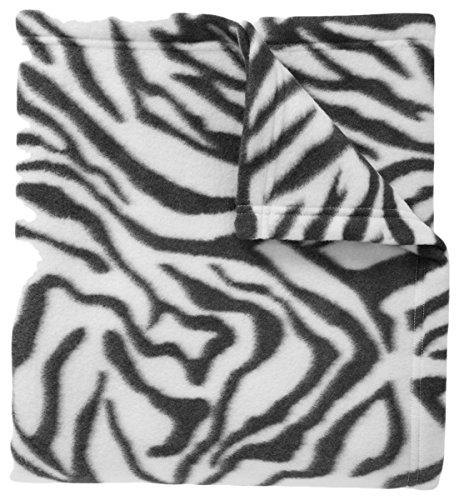 - Port Authority Core Printed Fleece Blanket_Zebra Print_OSFA